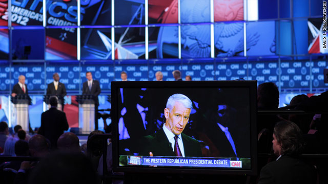CNN debate scores large audience