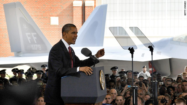 Obama Bus Tour: Joint Base Langley-Eustis
