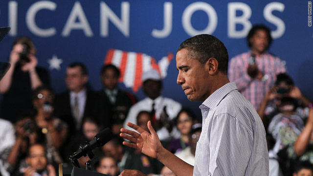 Obama keeps message on economy during Florida stop