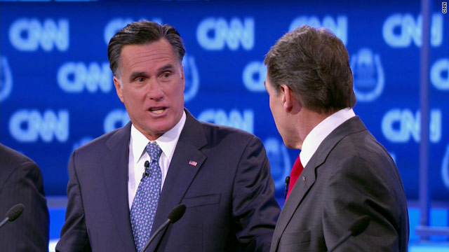 BLITZER'S BLOG: Perry, Romney and Reagan