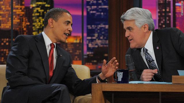 Obama doing Leno - again