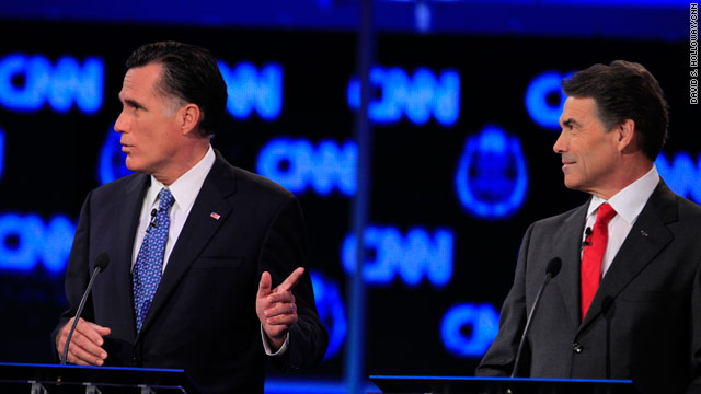 Romney and Perry attack Obama handling of Israel and Iran