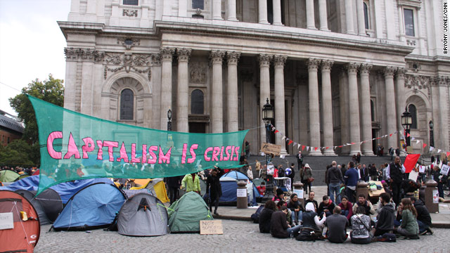 Occupy London protests require St. Paul's Cathedral to close