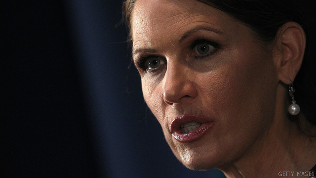Bachmann: Gingrich was paid to &#039;influence&#039; Republicans for Freddie Mac