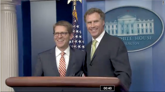 Mr. Ferrell goes to Washington