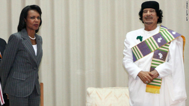 Condoleezza Rice in new book: Gadhafi depicted me as 'African Flower'
