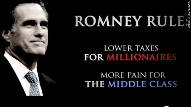 Super PAC ad hits Romney on taxes