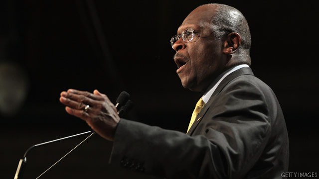 Cain tries to end doubts about his abortion stance