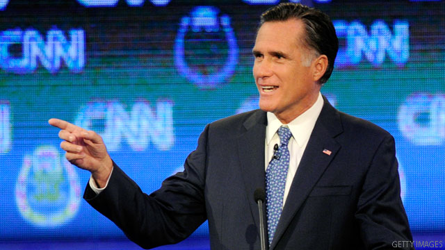 On climate change, Dems and Perry find Romney shifting