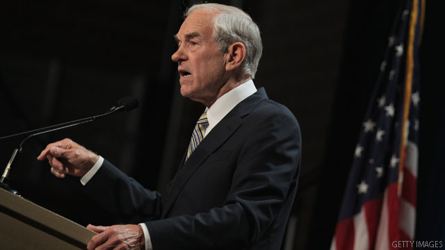 Ron Paul says unemployment is 20%