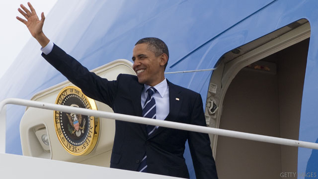 Obama travels for policy and fundraising, Republicans attack