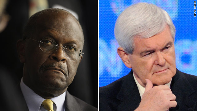Cain and Gingrich to meet for tea party debate