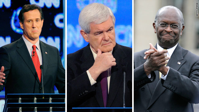 CNN learns Gingrich, Cain, Santorum to attend upcoming pres. forum