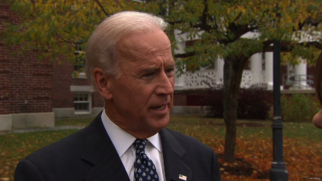 Biden: Rape comments weren't political