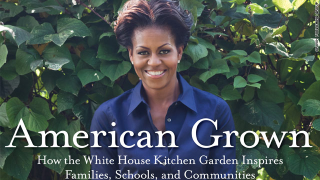 FLOTUS writes book on edible gardening