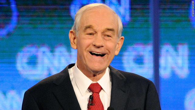 Texas Rep. Ron Paul drops a bomb