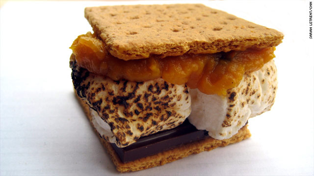 S'more sweet potato, please