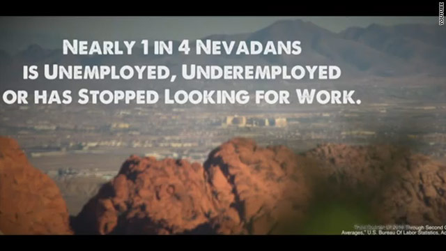 Romney unrolls Nevada welcome for Obama
