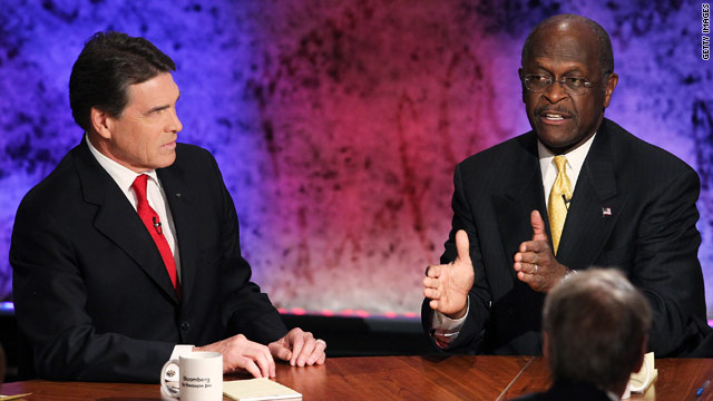 BLITZER'S BLOG: Cain's 9-9-9 plan vs. Perry's 20-20-0 plan