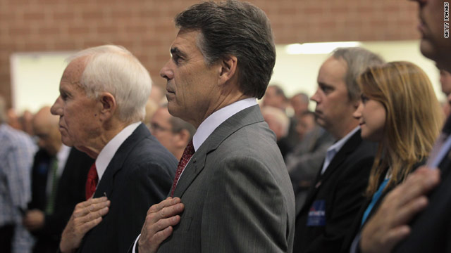 Perry says plan will 'free' Americans from lengthy tax code