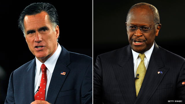 Poll: Romney & Cain on top in Arizona