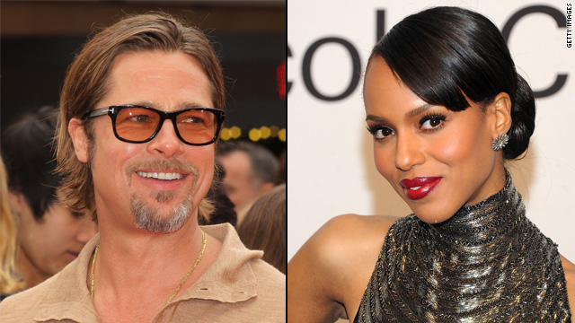 Pitt joins '12 Years a Slave,' Kerry Washington lands 'Django'