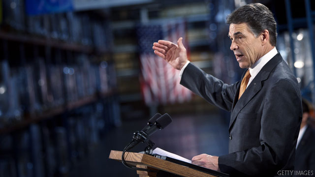 BLITZER'S BLOG: Perry proposing major Social Security changes