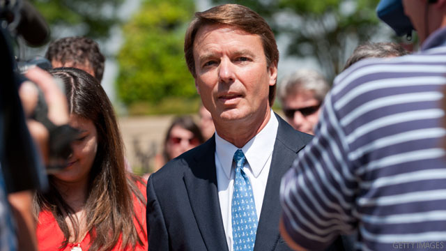 John Edwards loses court bid to dismiss criminal case