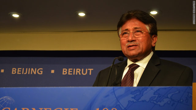 Musharraf says it &quot;can&#039;t be&quot; that ISI supports Haqqani terrorists