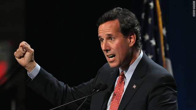 Santorum: &#039;I would never skip a debate&#039;