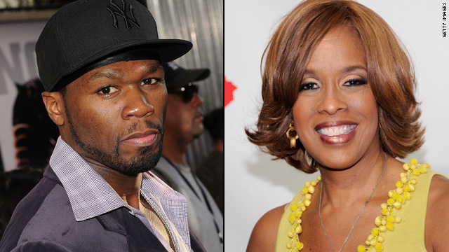 50 Cent and Gayle King's Twitter love fest