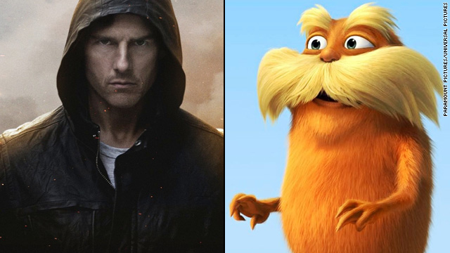 Trailer Park: 'Ghost Protocol' and 'The Lorax'