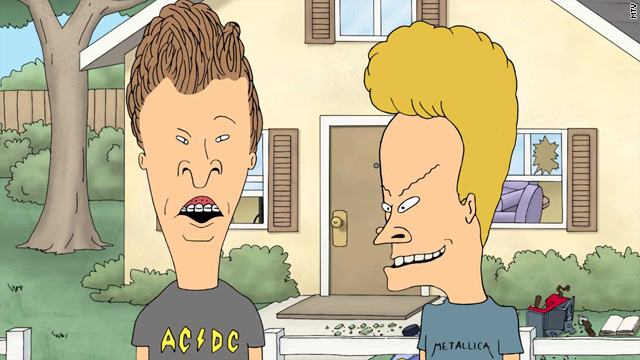 'Beavis and Butt-head' back to their old tricks
