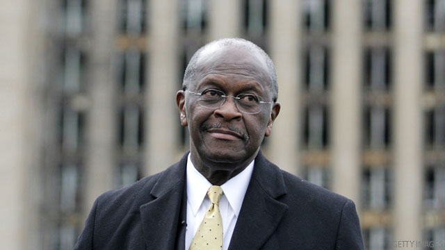 Cain says he'd be winning