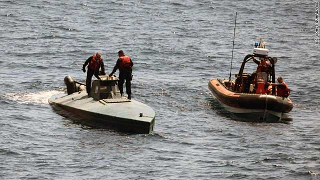 Narco sub stopped with 7 tons of cocaine