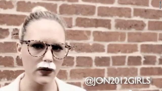 Huntsman daughters spoof Cain's smoking ad