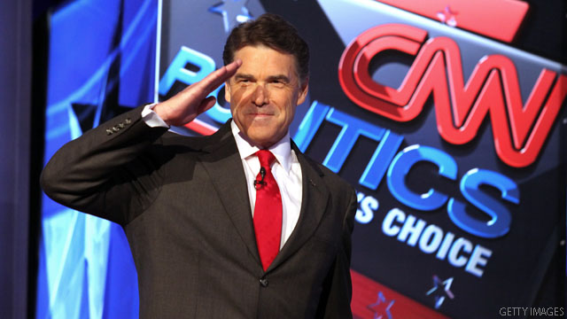 Can Perry afford to pass on debates?