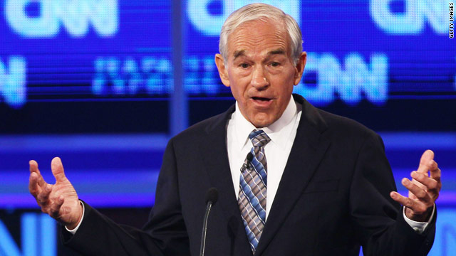 Ron Paul doesn't budge on Israel