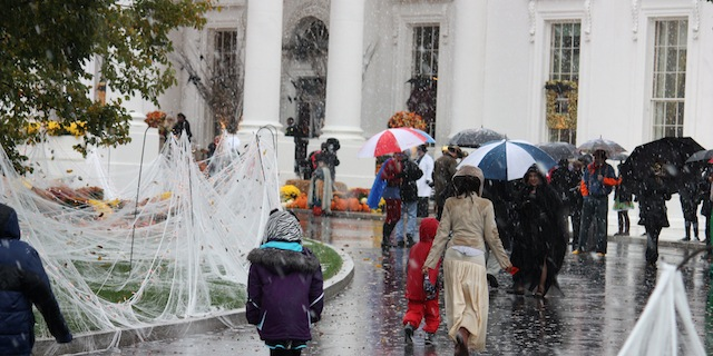 Photo: Halloween at the White House