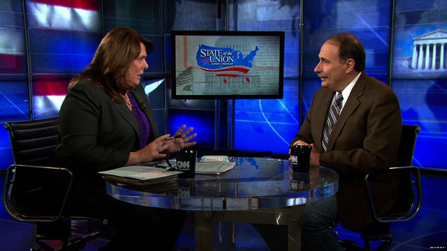 Axelrod takes on lobbyist charge while jabbing Republicans