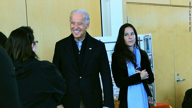 Biden leaks word of daughter's engagement