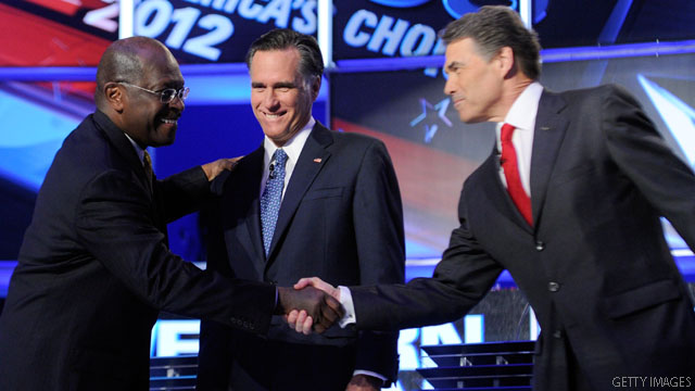 Poll: Cain and Perry lead in Texas