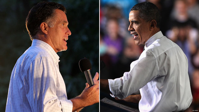 Poll: Obama, Romney tied as race heats up