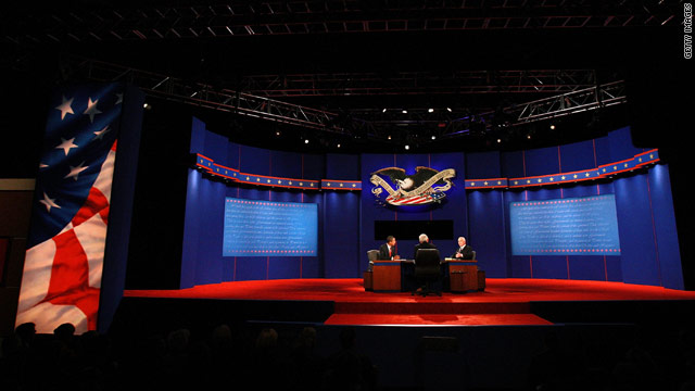 Debates announced for presidential general election