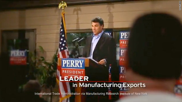 Pro-Perry group blankets Iowa and South Carolina with new ads