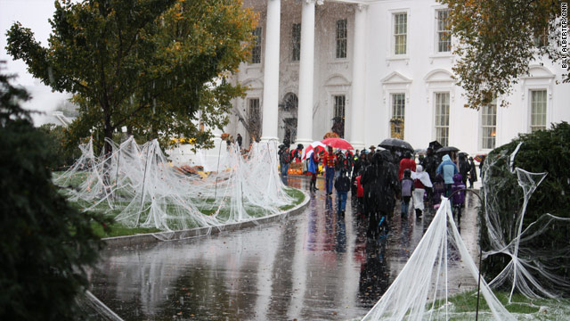 POTUS's Halloween Schedule for October 31, 2011