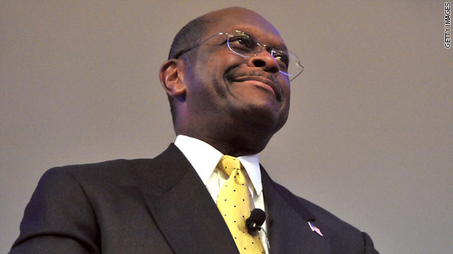 BLITZER'S BLOG: Cain keeping his head up despite controversy
