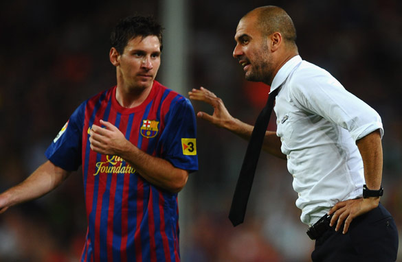 Will Barcelona star Lionel Messi and team coach Josep Guardiola be named the world's best in January?