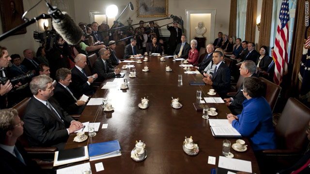 Did you know…where the table in the Cabinet Room comes from?