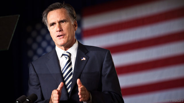 Dems go after Romney ahead of spending speech
